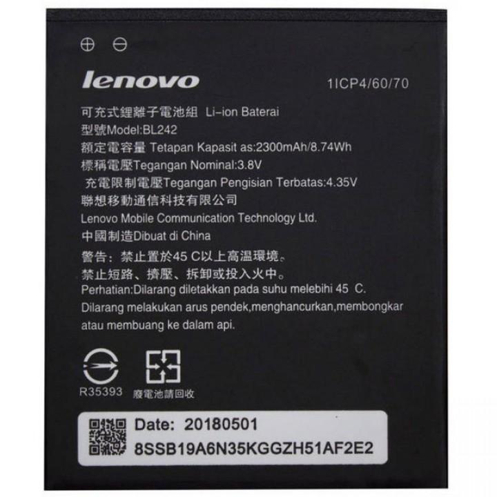 Аккумулятор батарея  Аккумулятор Lenovo K3 / BL242 (2300 mAh) Original