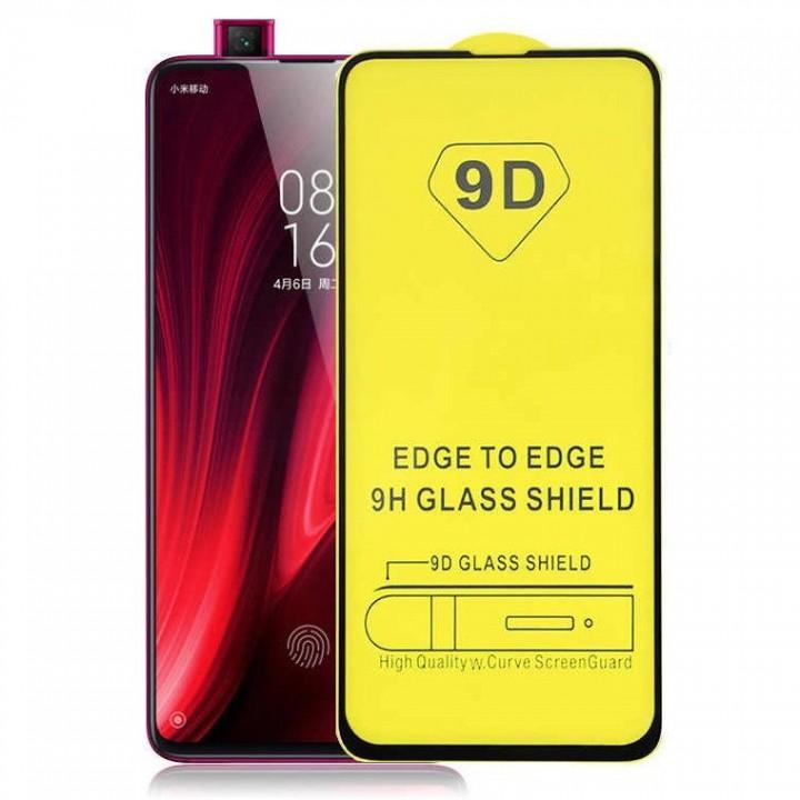 Защитное стекло 9D Full Glue для Xiaomi Mi9t k20 black