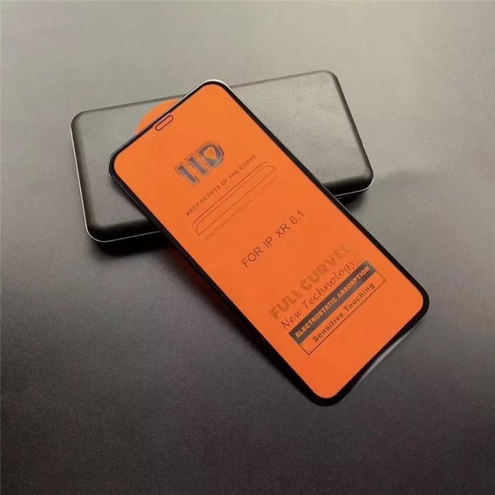 Защитное стекло 19D Full Glue для Iphone Xs Max black