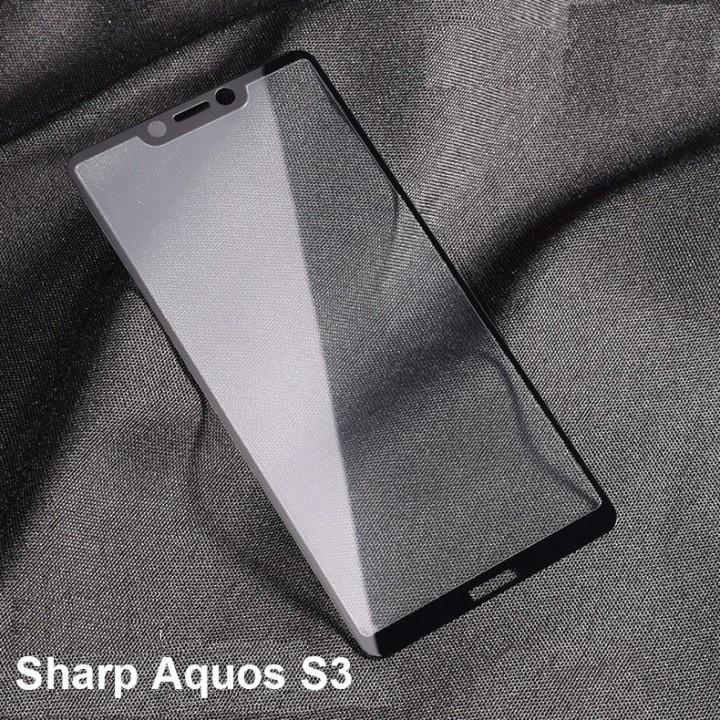 Защитное стекло 5D Full Glue  для Sharp Aquos s3