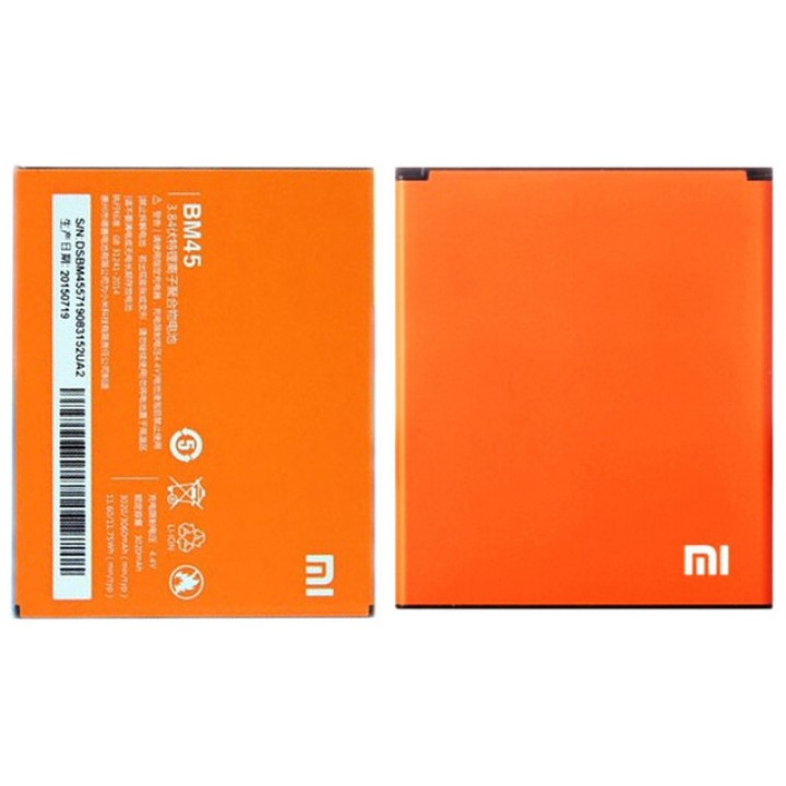 Аккумулятор Батарея Xiaomi Redmi Note 2 / BM45 (3020 mAh) Original