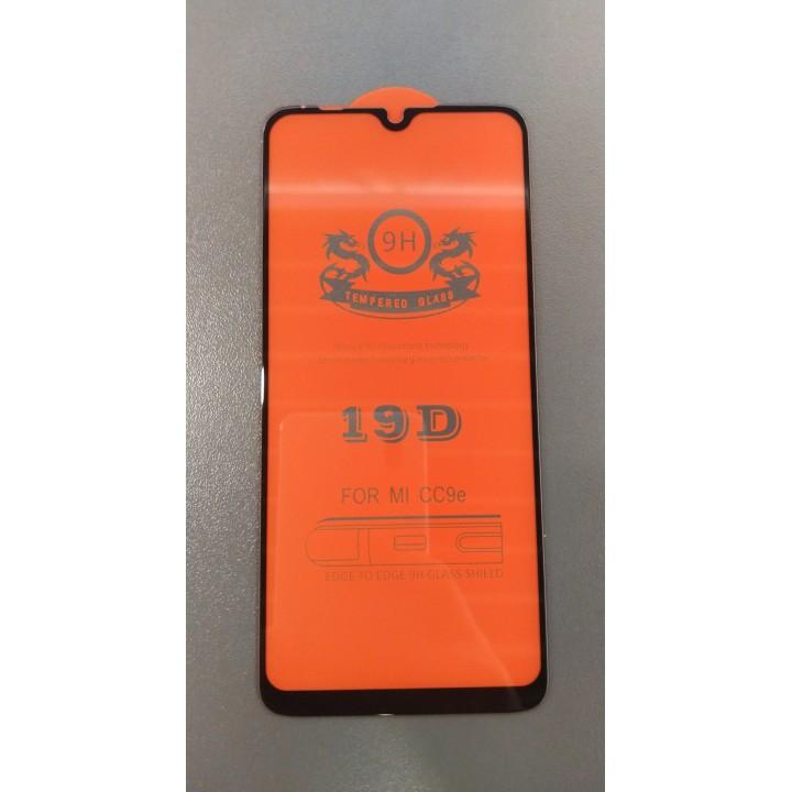 Защитное стекло 19D Premium Full Glue для Xiaomi Mi A3, cc9e 6.01 black