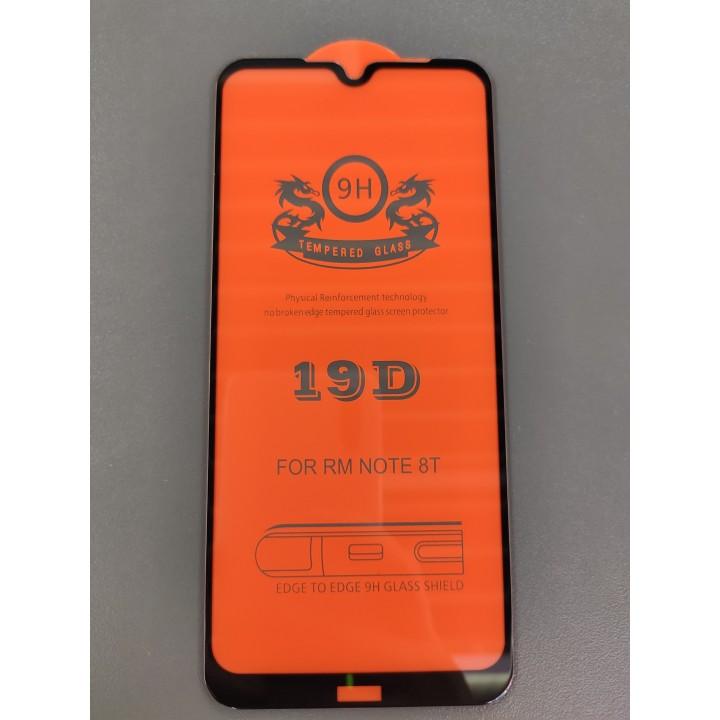Защитное  стекло 19D  для Xiaomi Redmi Note 8T