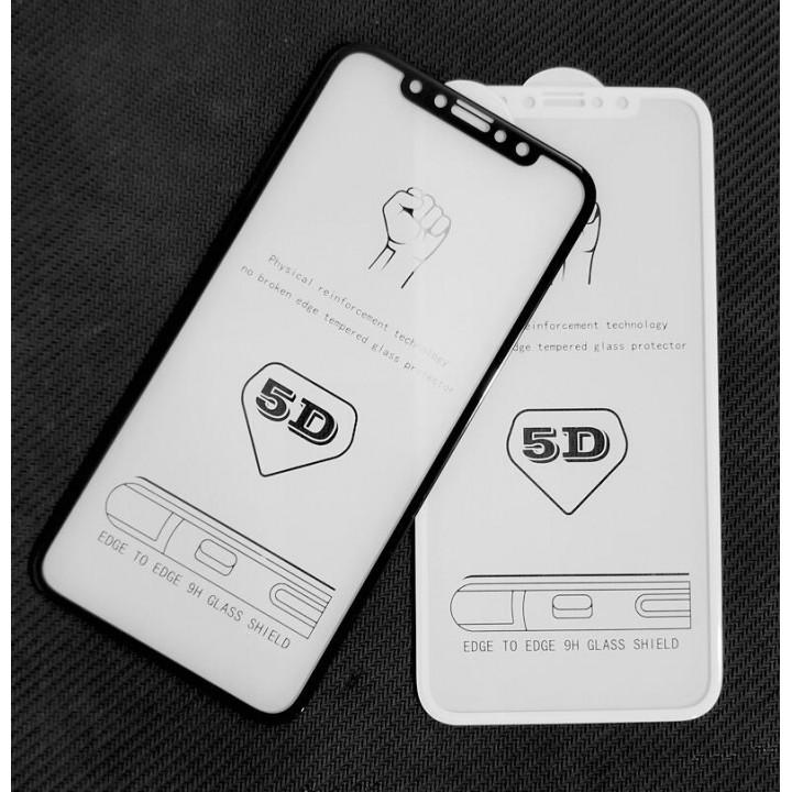 Защитное стекло  5D Full Glue для iPhone X/Xs