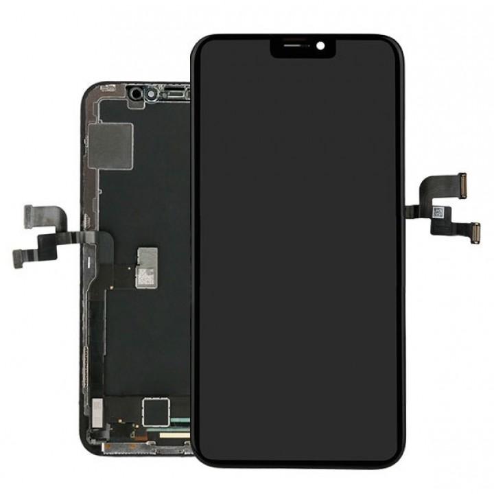 Дисплей, модуль для телефона  iPhone X + Touchscreen TFT Black