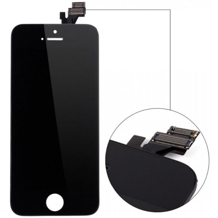 Дисплей, модуль для телефона Apple iPhone 5 + Touchscreen Original Black