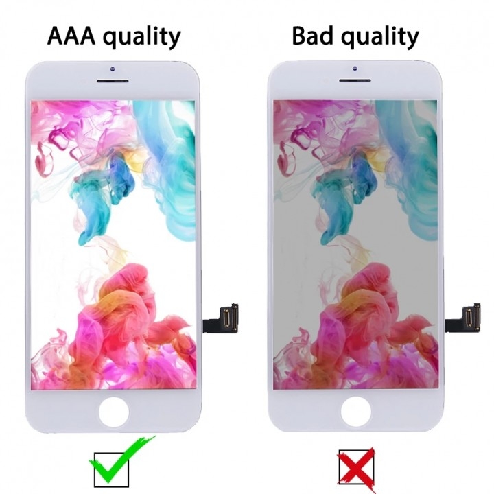 Дисплей, модуль для телефона iPhone 7 pluse + Touchscreen Original white