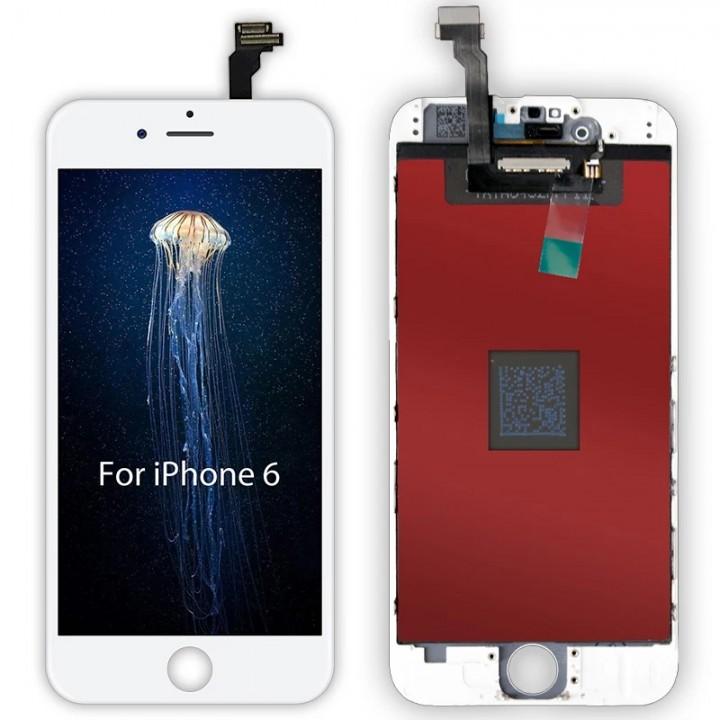Дисплей, модуль для телефона Apple iPhone 6 + Touchscreen Original white