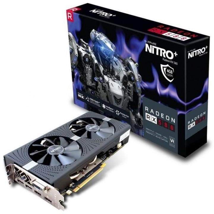 Видеокарта Sapphire Radeon RX 580 NITRO+ 8192MB (11265-01-20G)