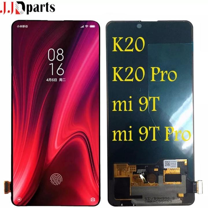 Дисплей (экран) для телефона Xiaomi K20 K20pro mi9t mi9t Pro + Touchscreen Original Black