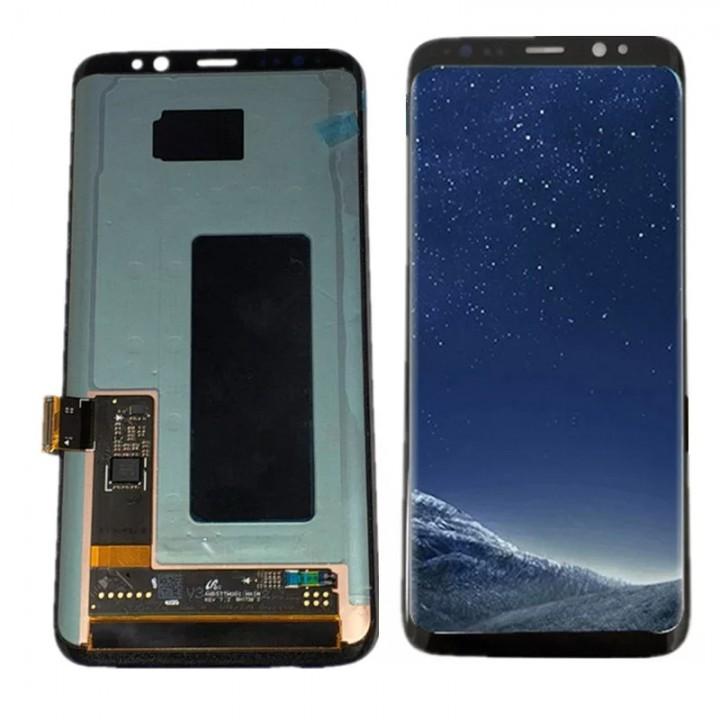 Дисплей (экран) для телефона Samsung Galaxy S9 G960 (Super AMOLED) + Touchscreen Original Black