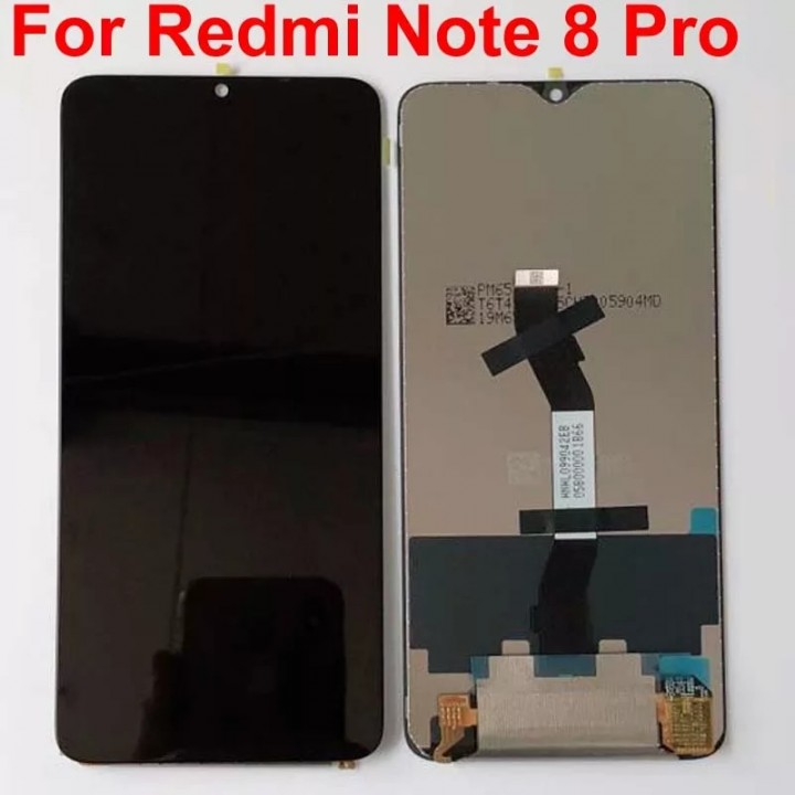 Дисплей (экран) для телефона Xiaomi Redmi Note 8pro + Touchscreen Original Black