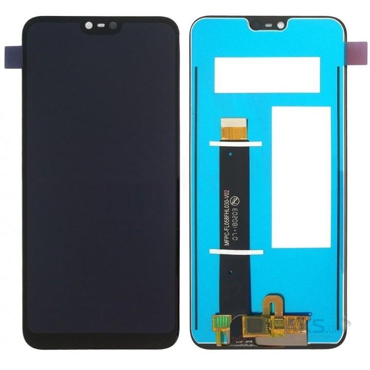 Дисплей (экран) LCD для телефона Nokia 6.1 Plus TA-1103, X6 2018 + Touchscreen Black