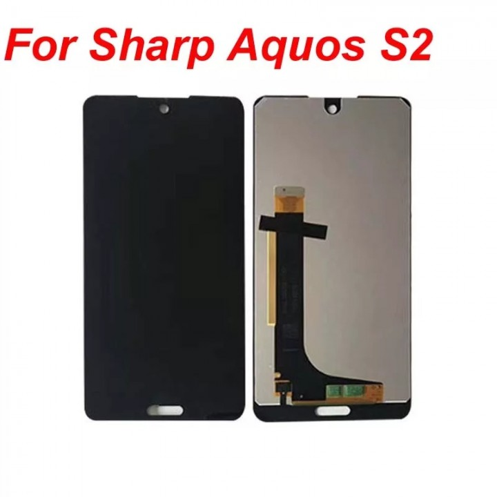 Дисплей (экран) LCD для телефона Sharp aquos s2 s3mini c10 + Touchscreen Black